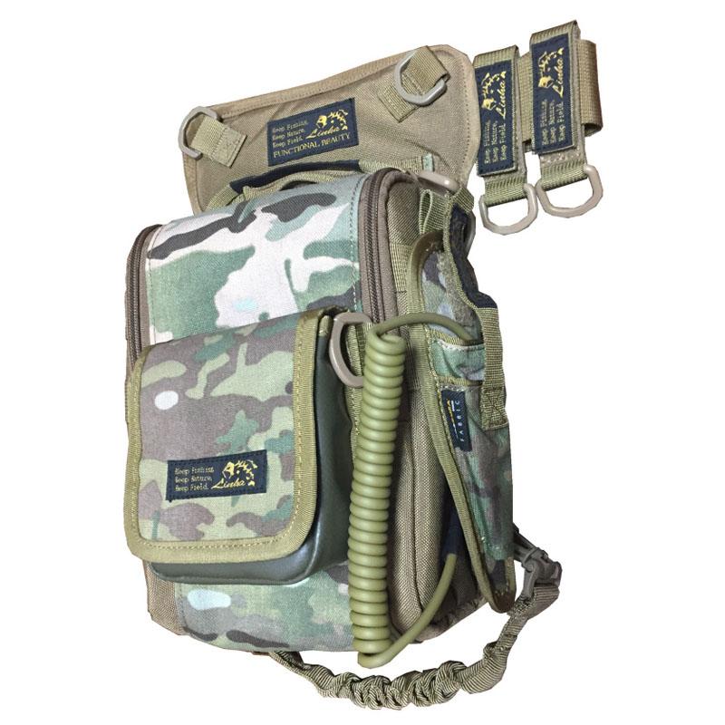 LINHA(リーニア) 2WAY LEG BAG 「STAG」 セット CAMO(カモ) MSB-22N SET
