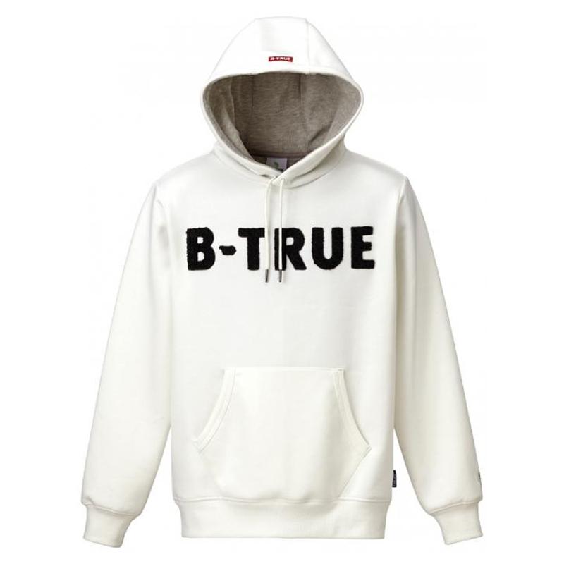 エバーグリーン(EVERGREEN) B-TRUE プレミアムプルパーカー M ホワイト