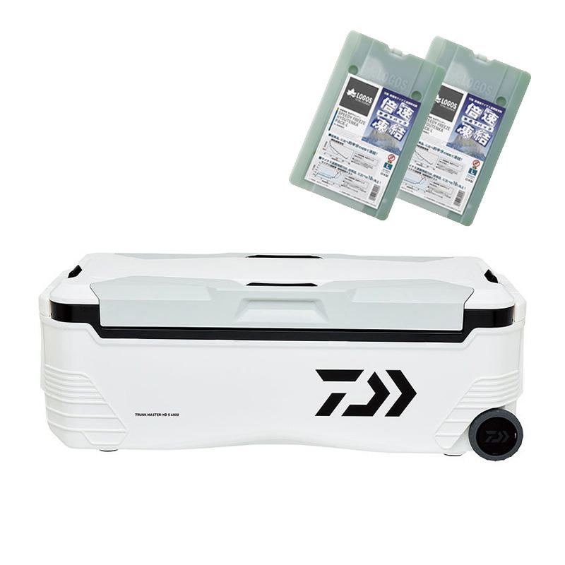 ナチュラム トランクマスター HD S 4800 【クーラーボックス×最強保冷剤セット】