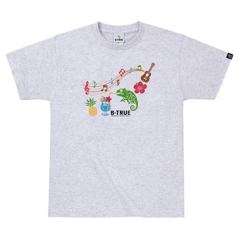 エバーグリーン(EVERGREEN) B-TRUE ベーシックTシャツ タイプ1 L アッシュ 5249233