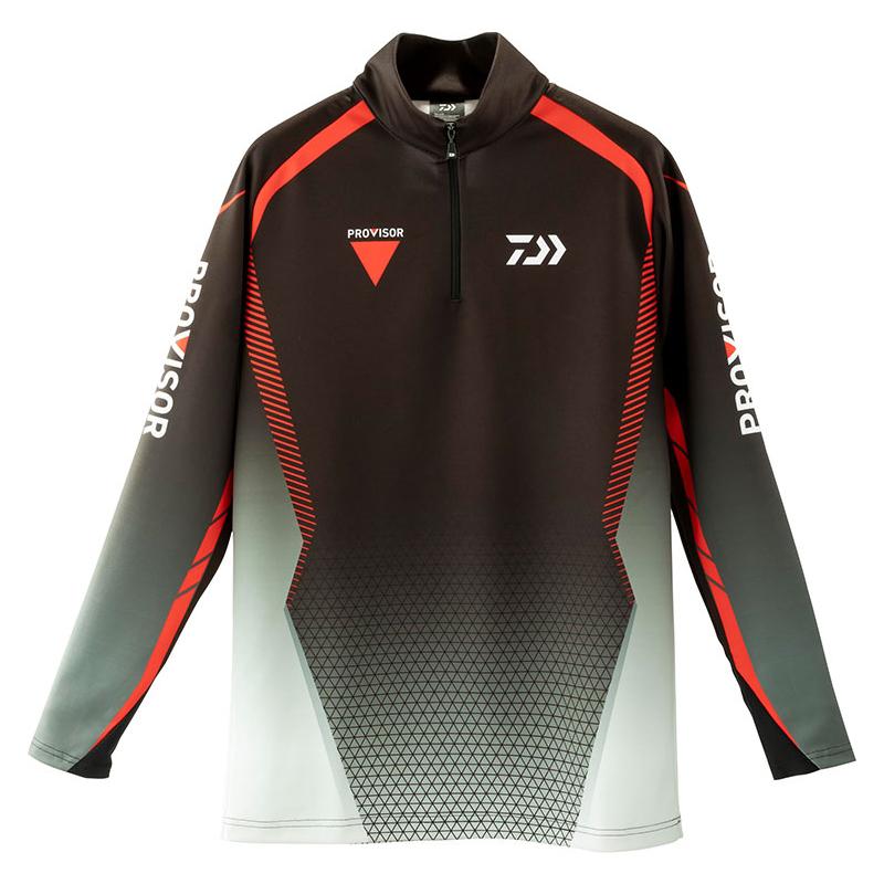 ダイワ(Daiwa) DE-32009 プロバイザー ブレスマジック ハーフジップシャツ 3XL ブラック 08311605