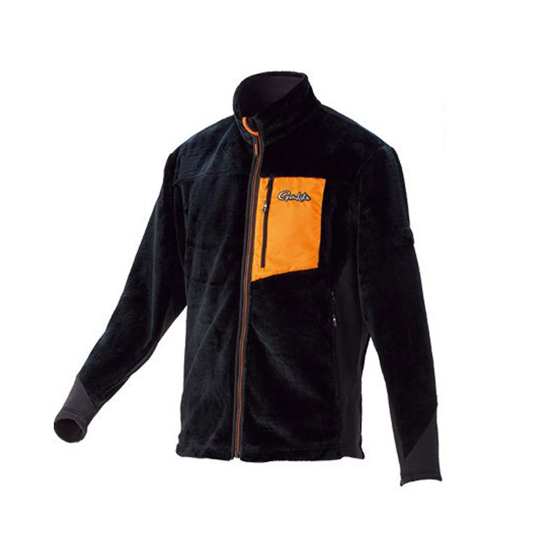 がまかつ(Gamakatsu) ボアフリースジャケット GM-3526 3L ブラック 53526-15-0