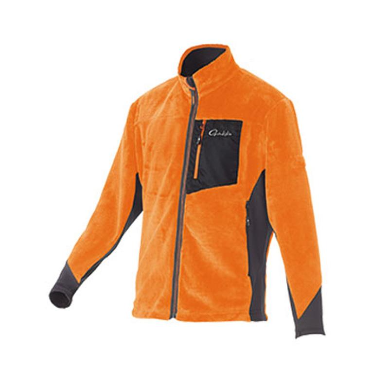 がまかつ(Gamakatsu) ボアフリースジャケット GM-3526 LL オレンジ 53526-34-0