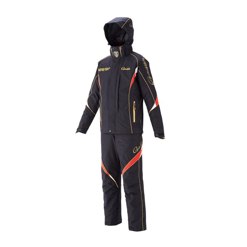 がまかつ(Gamakatsu) ゴアテックスオールウェザースーツ GM-3537 LL ブラック 53537-14-0
