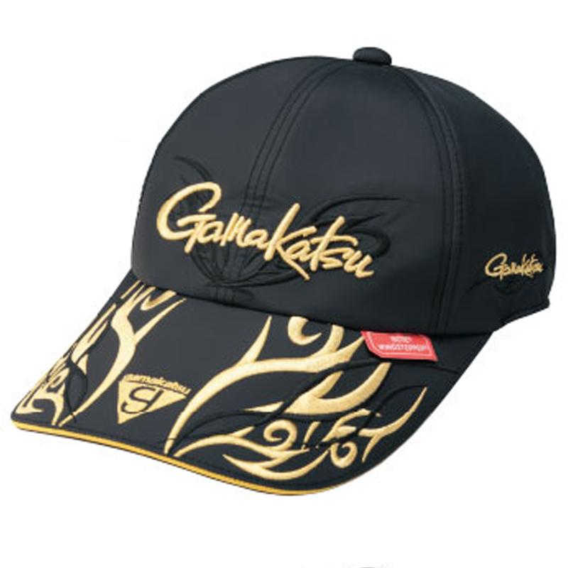 がまかつ(Gamakatsu) ウィンドストッパー ロングバイザーキャップ GM-9842 L ゴールド 59842-53-0