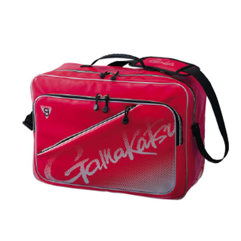 がまかつ(Gamakatsu) 3WAYバッグ GM-3580 レッド×シルバー 53580-3-0