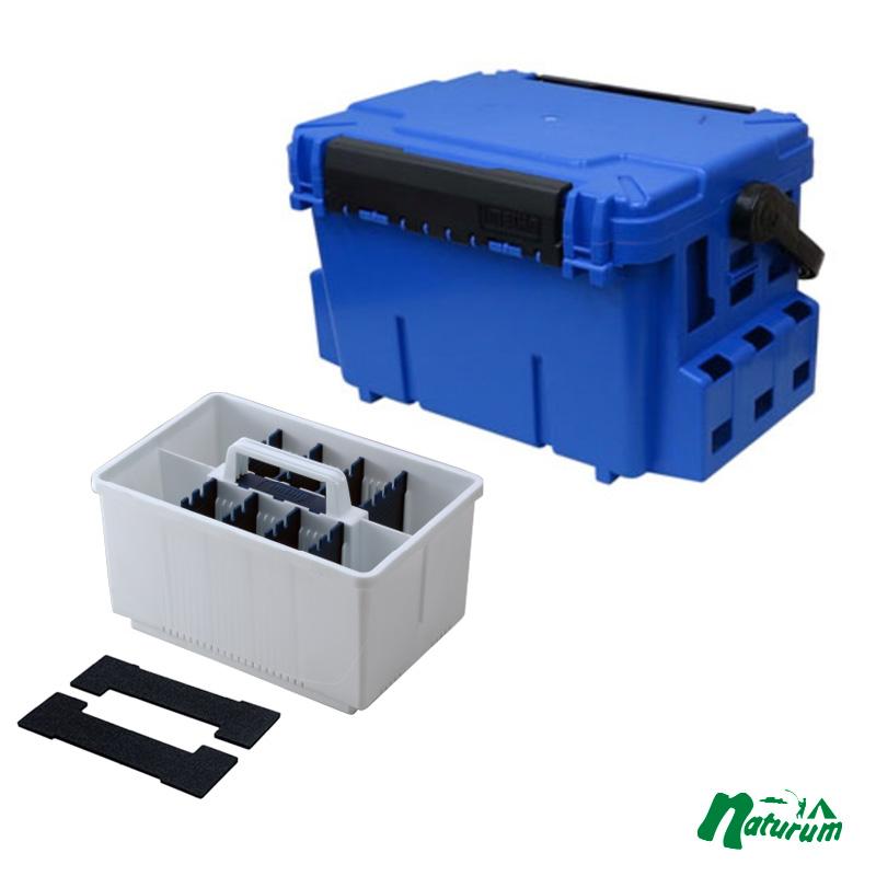 タックルボックス 新作製品、世界最高品質人気! メイホウ MEIHO 明邦 時間指定不可 ランガンシステム インナーストッカーセット ブルー L BM-7000