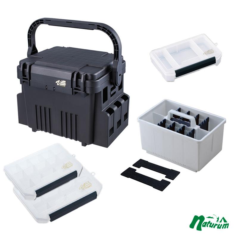 タックルボックス メイホウ MEIHO 激安 激安特価 送料無料 舗 明邦 バーサス ランガンシステム ブラック×クリア インナーストッカーセット VS-7080 ルアーケース
