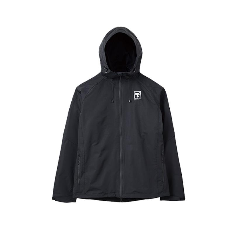 ジャッカル(JACKALL) シェルジャケット M ブラック