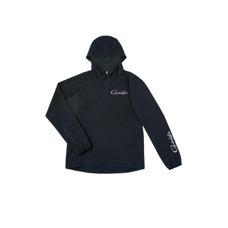 がまかつ(Gamakatsu) ウィンドブレイクジップシャツ GM-3632 LL ブラック 53632-14-0