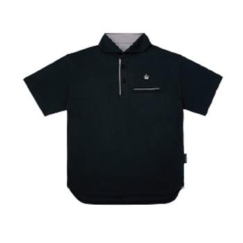 がまかつ(Gamakatsu) ポロシャツ(クラウンエディション) GM-3635 5L ブラック 53635-17-0