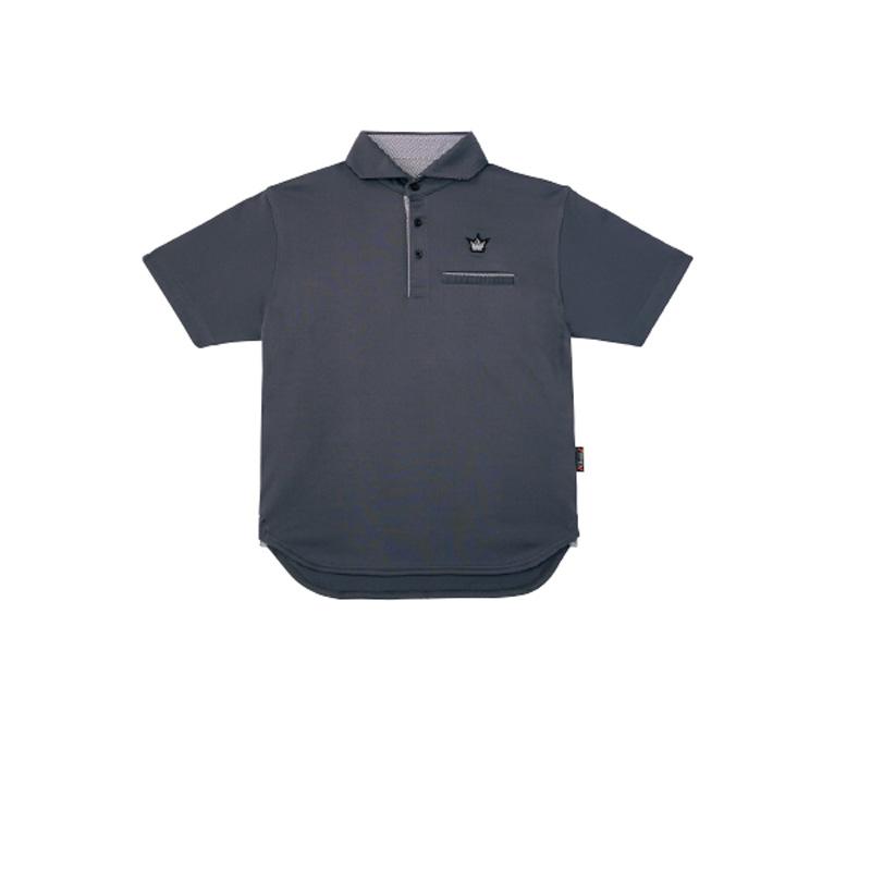 がまかつ(Gamakatsu) ポロシャツ(クラウンエディション) GM-3635 L チャコール 53635-33-0