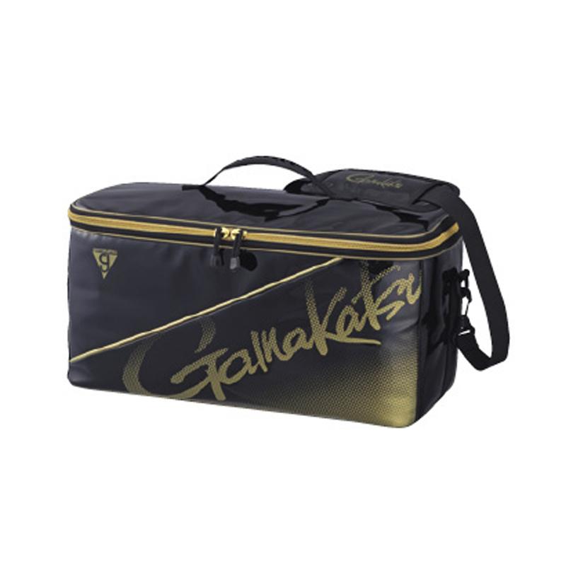 がまかつ(Gamakatsu) ボックスバッグ GM-3581 31L ブラック×ゴールド 53581-4-0