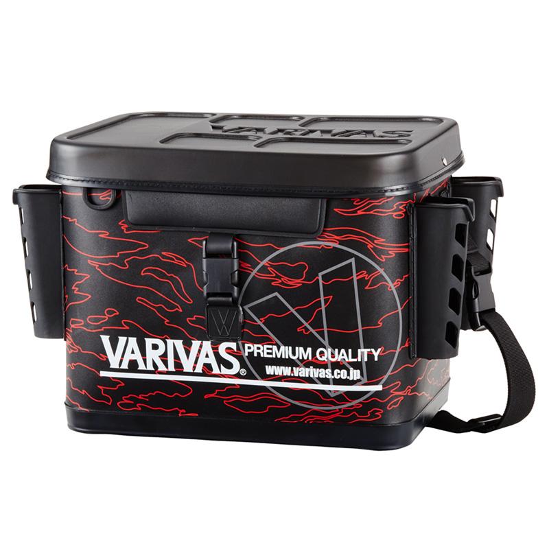 モーリス(MORRIS) VARIVAS タックルバッグ 36cm レッド VABA-66