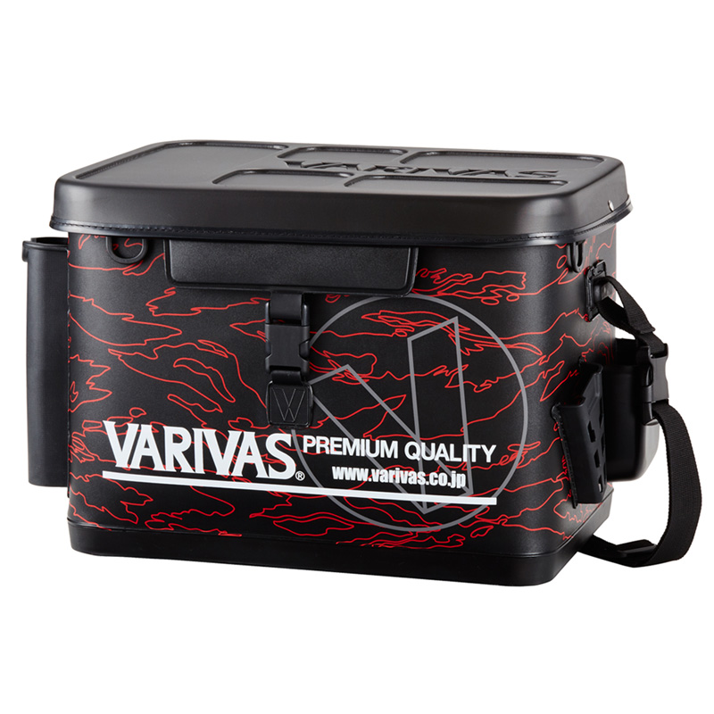 モーリス(MORRIS) VARIVAS タックルバッグ 40cm レッド VABA-67
