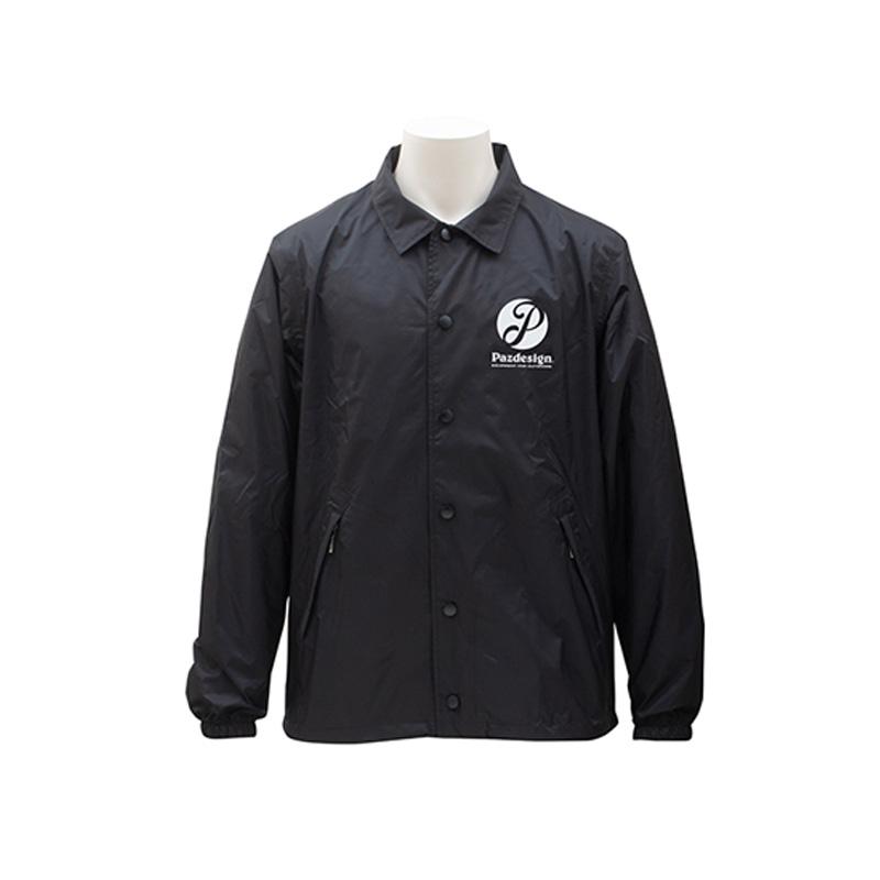 パズデザイン グランドレインジャケット S ブラック/プリントB SJK-015