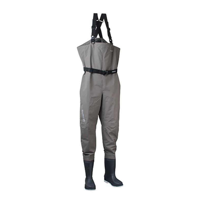 パズデザイン PVCブーツBSCHウェーダーFS フェルトスパイク S チャコール PBW-481