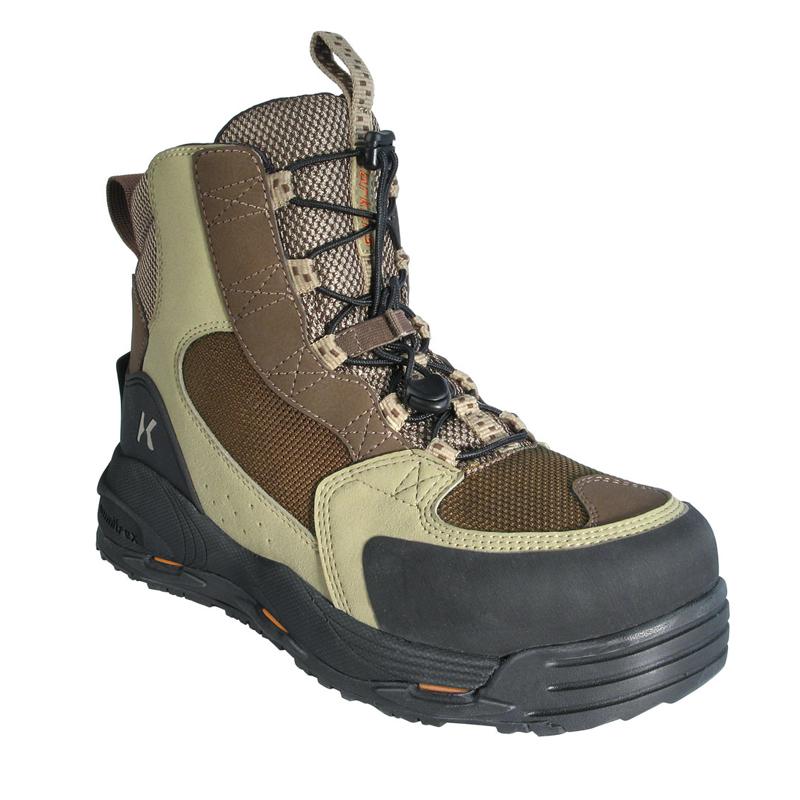 大放出セール フィッシングシューズ ブーツ CFデザイン Korkers FB3310-08 REDSIDE US08 着後レビューで 送料無料 レッドサイド