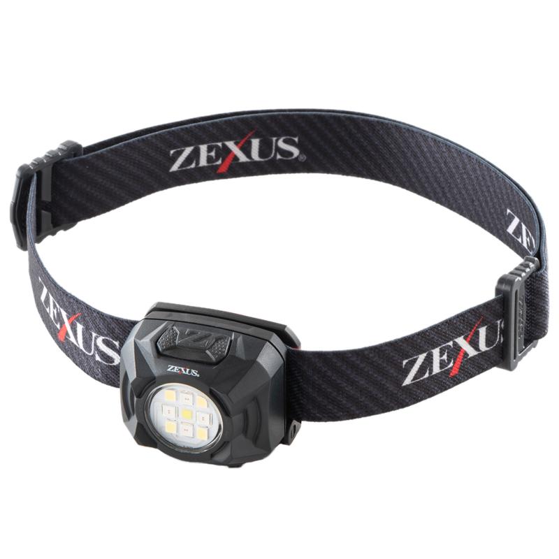 フィッシングツール 特売 NEW売り切れる前に☆ 全般 ZEXUS ゼクサス USB充電式 最大400ルーメン ZX-R30
