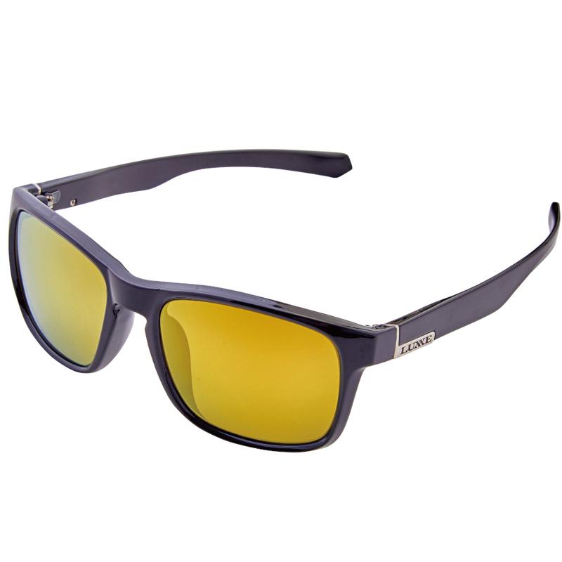 偏光グラス がまかつ Gamakatsu スペッキーズ ブラック 高品質 引出物 ダークブラウン×ゴールドミラー #7 LE3001