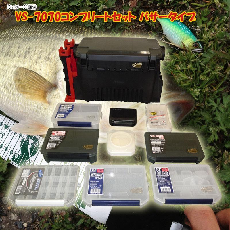 メイホウ(MEIHO) ★VS-7070コンプリートセット バサータイプ★ ブラック