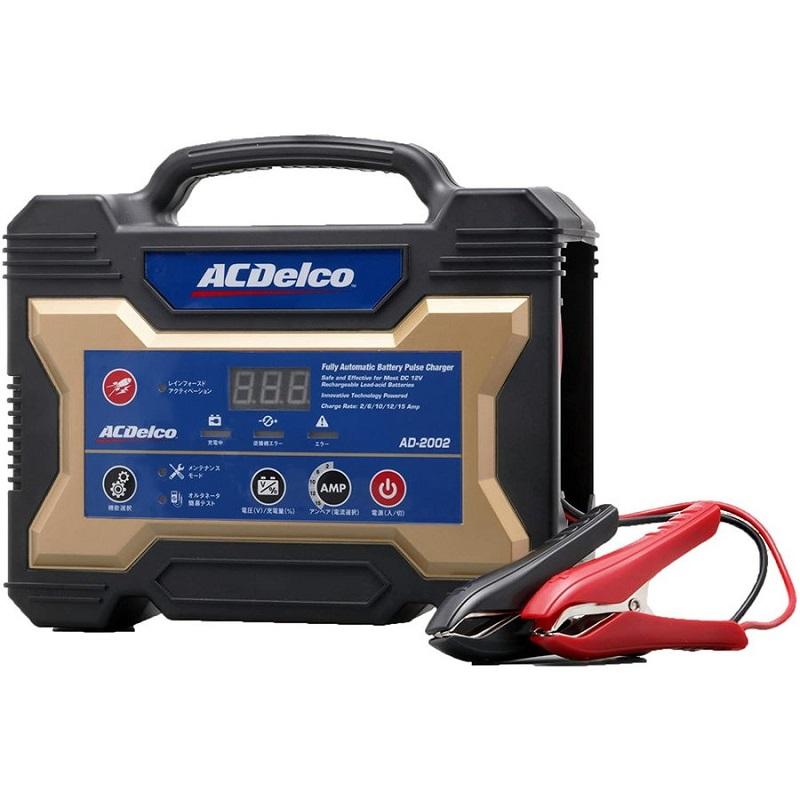 船外機 推奨 魚探 2020 新作 エレキ ACデルコ 全自動バッテリー充電器 12V専用 AD-2002