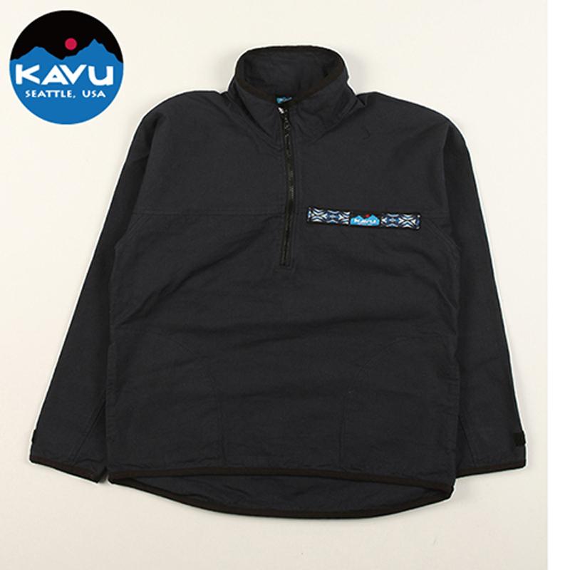 KAVU(カブー) Throw Shirts(スローシャツ) M Black(ブラック) 11863513001005