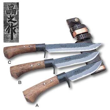 昌之 晶之作 槌目剣鉈 120 26cm 00540020