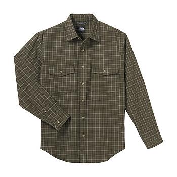 THE NORTH FACE(ザ・ノースフェイス) NT26726 L/S Basic Shirt XL CG(キャノピーグリーン) NT26726