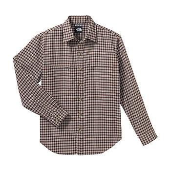 THE NORTH FACE(ザ・ノースフェイス) NT26727 Regular Collar Shirt XL SR(シラーズレッド) NT26727