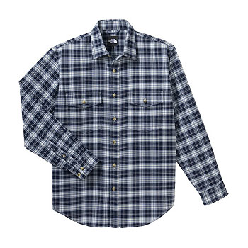 THE NORTH FACE(ザ・ノースフェイス) NT26728 L/S Basic Shirt XL NY(TNFネイビー) NT26728