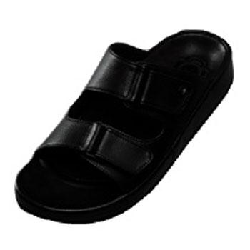 pure walker(ピュアウォーカー) プロフェッショナル 静電気帯電防止サンダル PW2801 Men's L/26cm ブラック PW2801