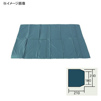 ogawa(小川キャンパル) グランドマット ポルヴェーラ34用 ダークグリーン×ブラック 3884