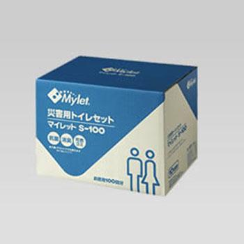 マイレット(Mylet) マイレット S-100 災害用トイレセット 100回分