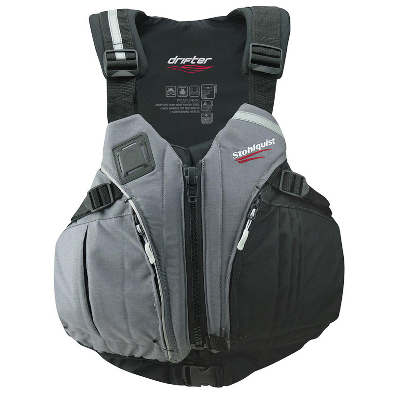 ストールクイスト Drifter PFD LG/XL Black×Charcoal 521346