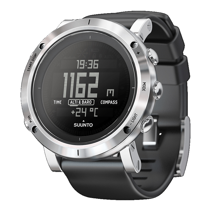 SUUNTO(スント) 【国内正規品】CORE BRUSHED STEEL SILVER SS020339000