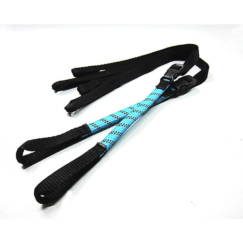 自転車アクセサリー ROK straps ロック ストラップ 自転車用 BLUE ストレッチストラップ [宅送] 安い ROK00333