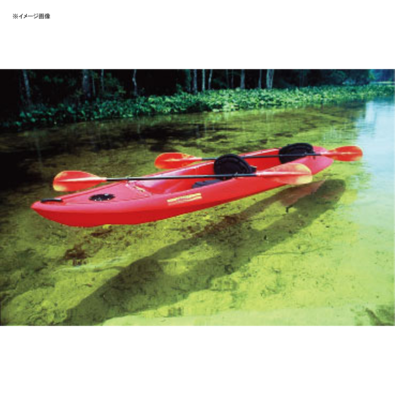 CARIBE(カリブ) クリアカヌー【代引不可】 レッド 22561 【大型商品】