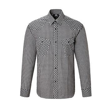マウンテンイクイップメント(Mountain Equipment) LS Gingham Check Shirt Men's S ブラック 421826