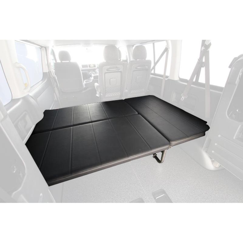 ユーアイビークル(UIvehicle) ハイエース200系 ワゴンGL用ベッドキット(Ver3)【代引不可】【営業所止め】 ワゴンGL レザー調ブラック JN-U022
