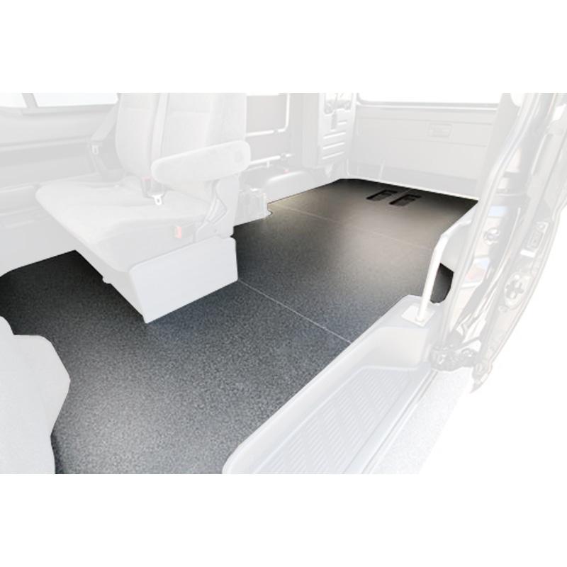 ユーアイビークル(UIvehicle) ハイエース200系 ワゴンGL用床張りキット(Ver3)【代引不可】【営業所止め】 ワゴンGL JN-U023