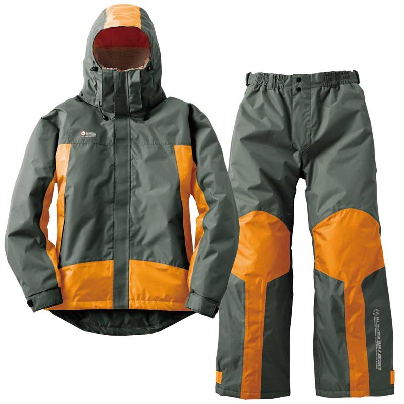 ロゴス(LOGOS) 防水防寒スーツ プロップ L 25(チャコール) 30338252