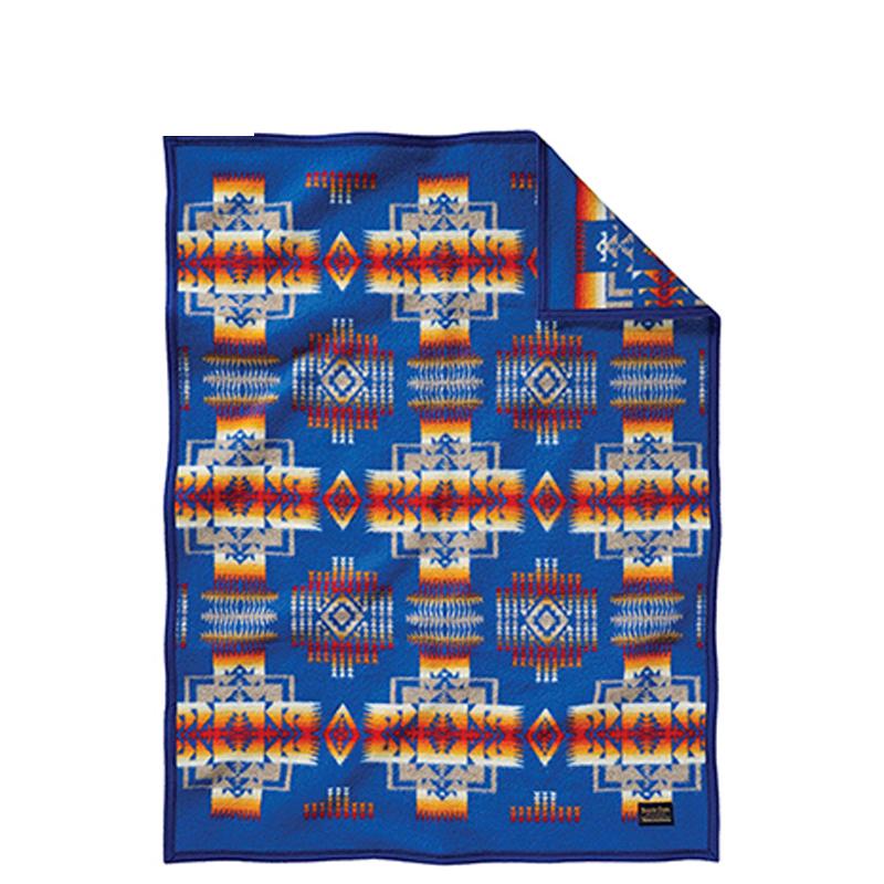 PENDLETON(ペンドルトン) チーフジョセフクリフブランケット ZD632 112×81cm 51164(Blue) 19373097164000