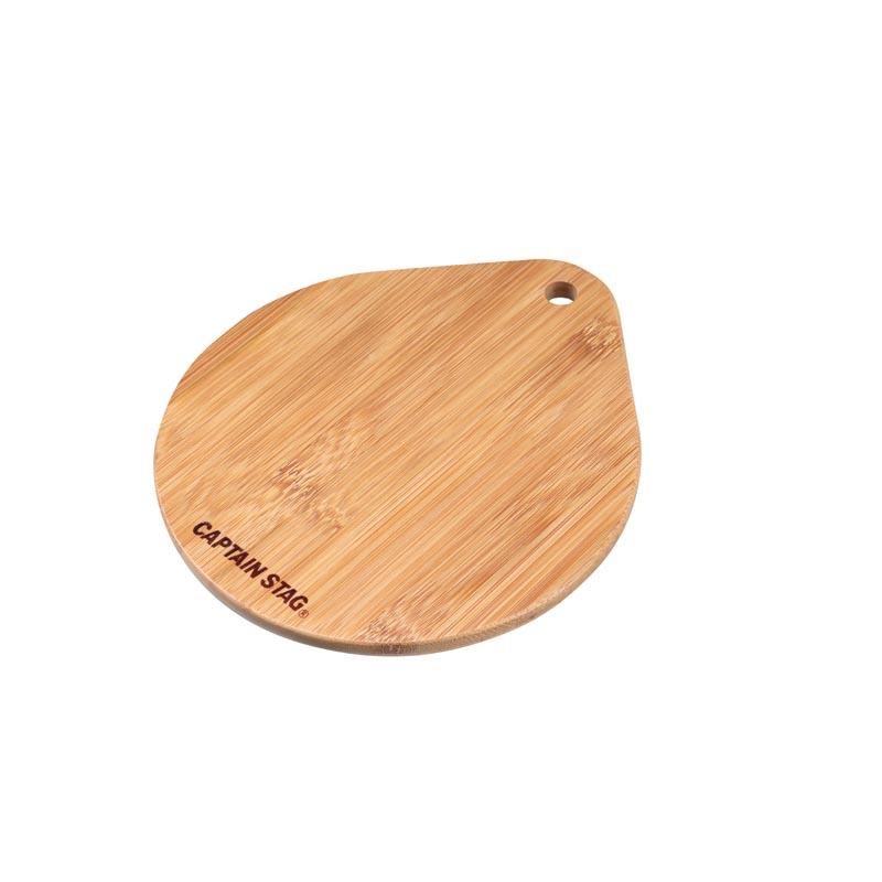 ダッチオーブン 交換無料 スモーカーアクセサリー キャプテンスタッグ CAPTAIN STAG 竹製プレート UG-3018 買い物 スキレット 18cm