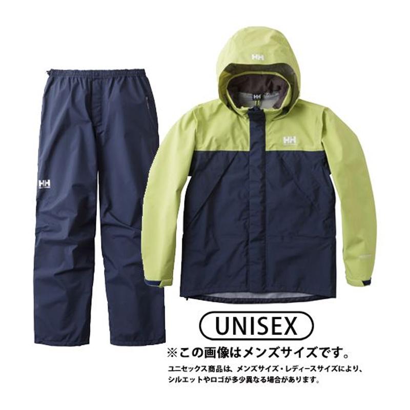 HELLY HANSEN(ヘリーハンセン) HOE11701 Helly Rain Suit(ヘリー レインスーツ) WL YG(イエローグリーン) HOE11701