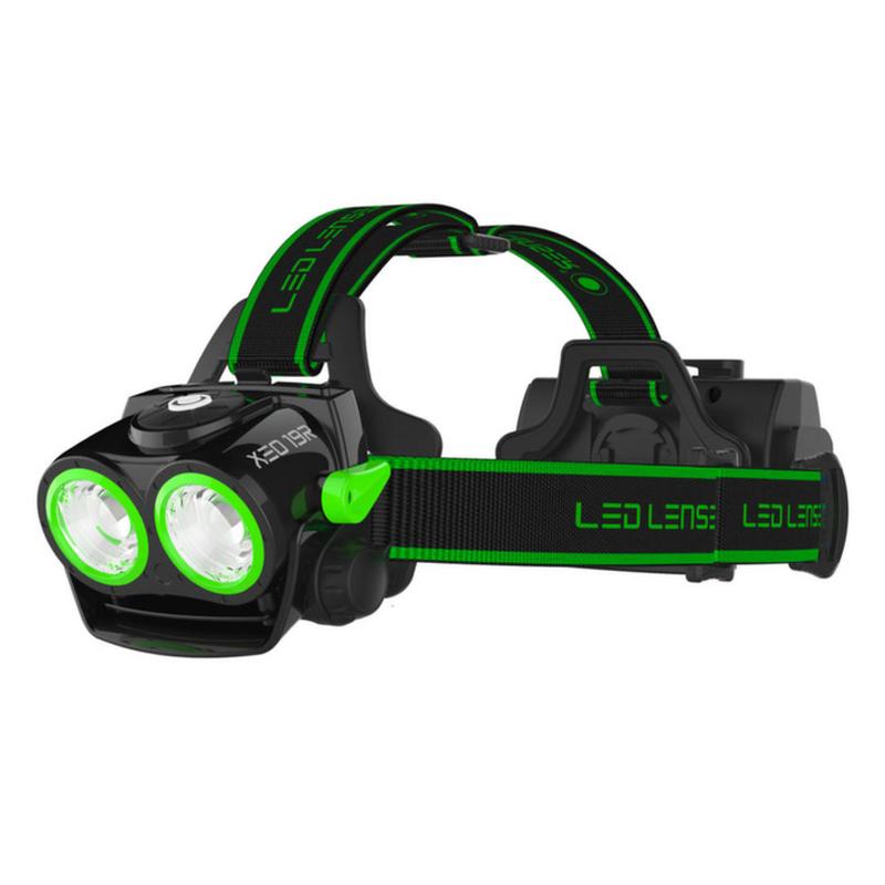 交換無料! LED LENSER(レッドレンザー) XEO19R エキストリーム XEO19R 18650 Battery Battery 18650 Pack 最大2000ルーメン 充電式 BLACKK/GREEN, eWine:77bb3f69 --- clftranspo.dominiotemporario.com