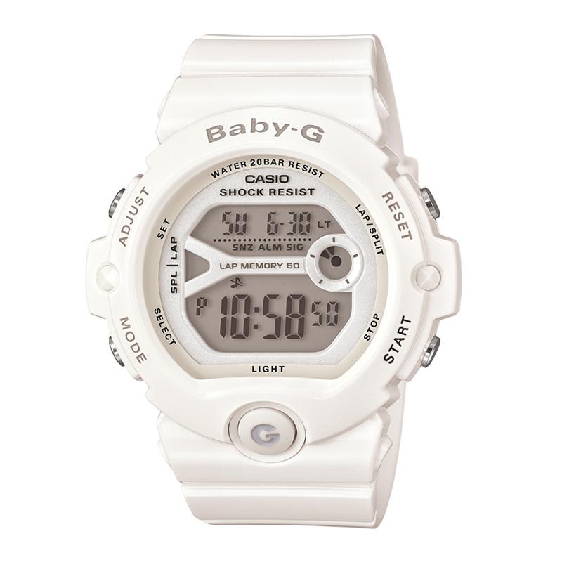 BABY-G(ベビージー) 【国内正規品】BG-6903-7BJF20気圧防水 ホワイト BG-6903-7BJF