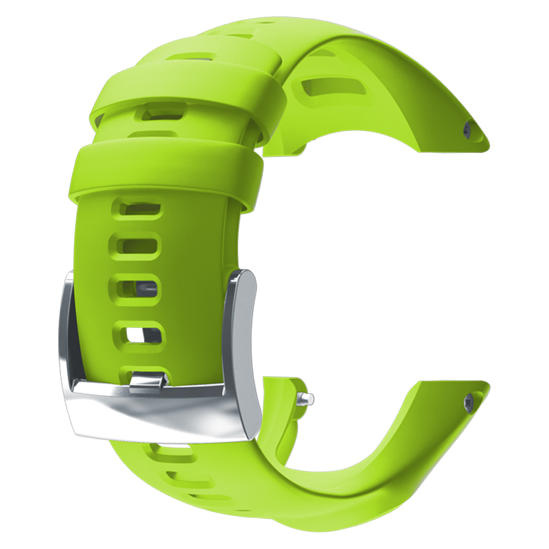 SUUNTO(スント) 【国内正規品】AMBIT3 RUN LIME SILICONE STRAP LIME SS021629000