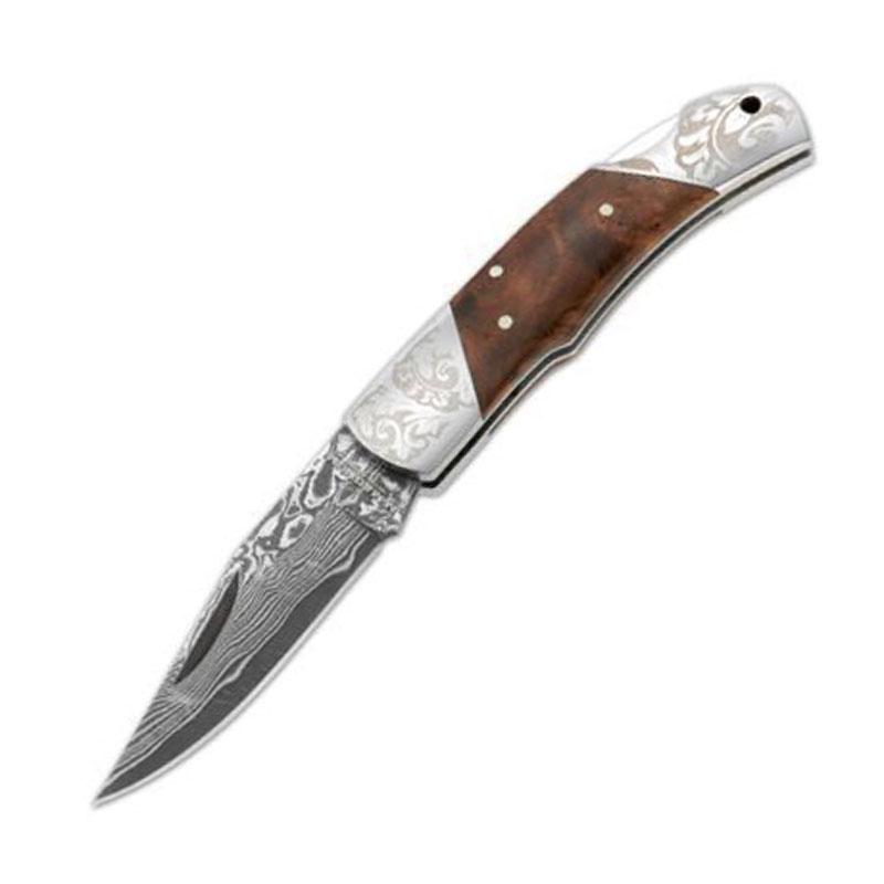 BOKER(ボーカー) マグナム ダマスカス デューク 折り畳みナイフ 01MB946DAM