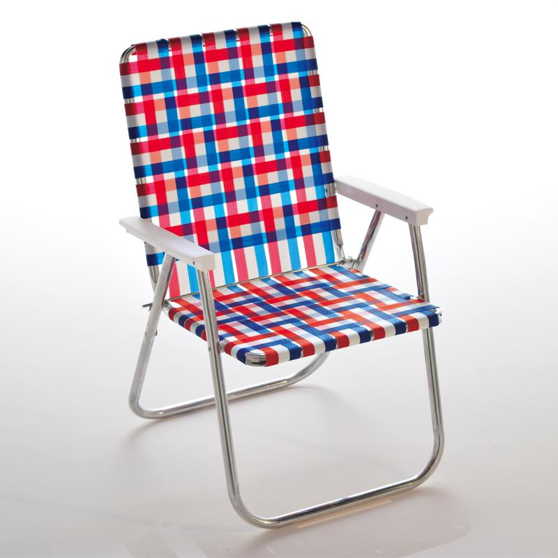 Lawn Chair(ローン チェアー) デラックスチェア 51cm Old Glory 62500